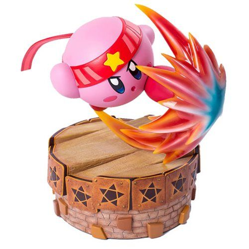 Kirby S Return In Dream Land Fighter Kirby 13 Inch Statue Kirby Kirby Character Statue