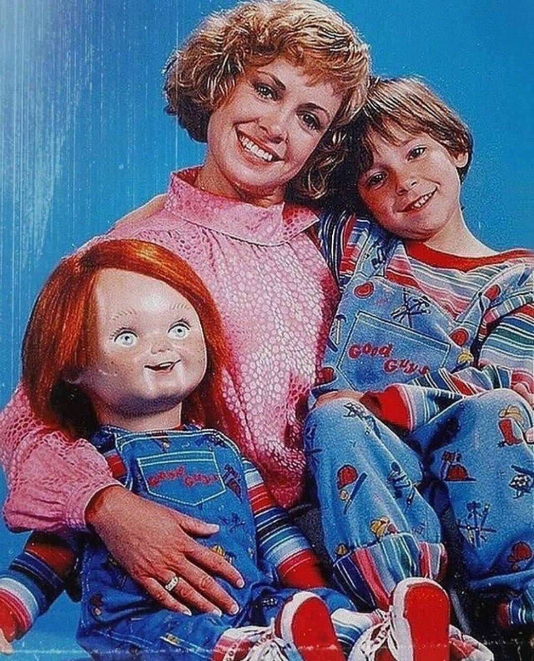 Chuck family photo chucky horror characters childs