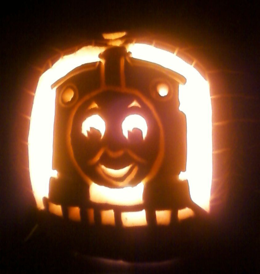 Thomas the tank engine emily thomas free engine image for Thomas pumpkin template