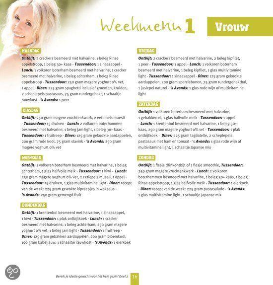 Geliefde Sonja Bakker Weekmenu Downloaden GZ27 | Belbin.Info &ED66