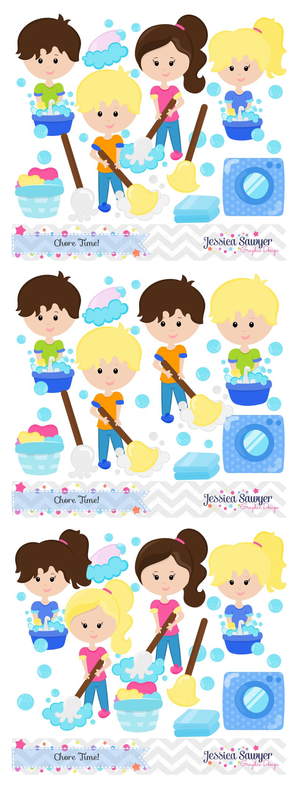 Chore Chart Housekeeping Child Clip Art - Recreation - Kidstuff Cliparts  Transparent PNG