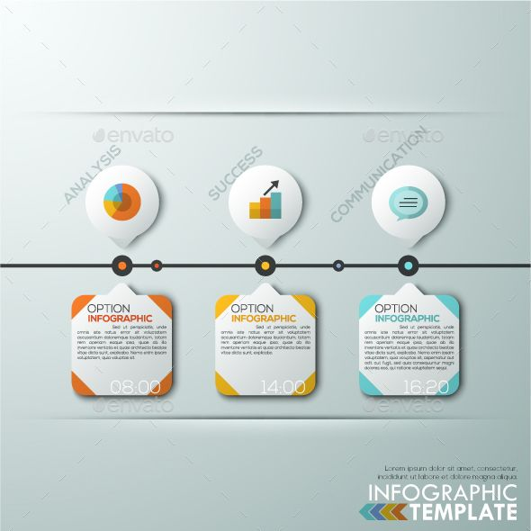 Modern Infographics Paper Timeline Template Timeline - advertising timeline template