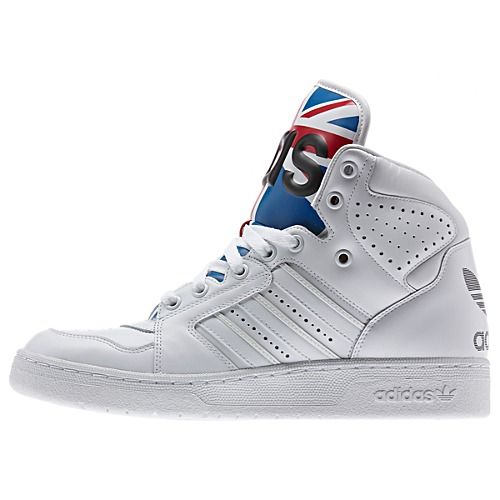 buy popular 0ee13 84454 image  adidas Jeremy Scott Instinct Hi Union Jack Shoes D65204