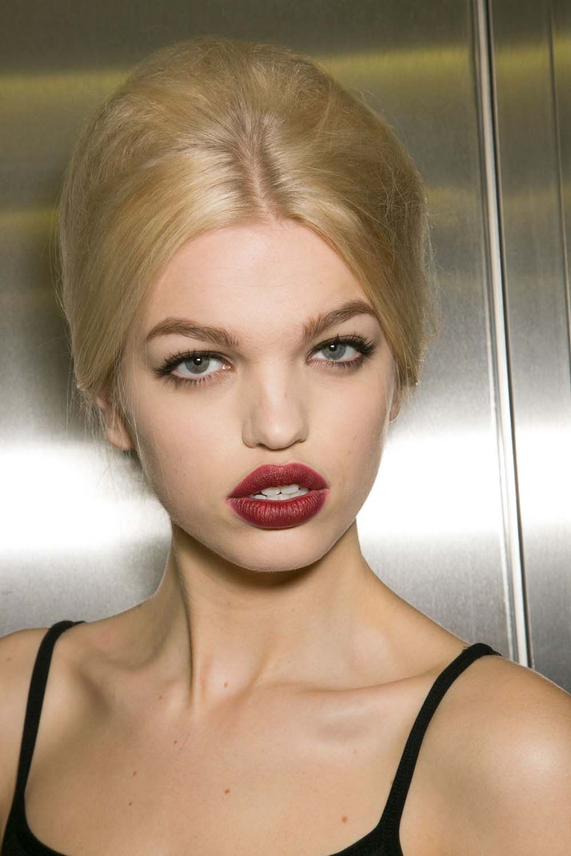 Les beauty looks du top model Daphné Groeneveld Femina