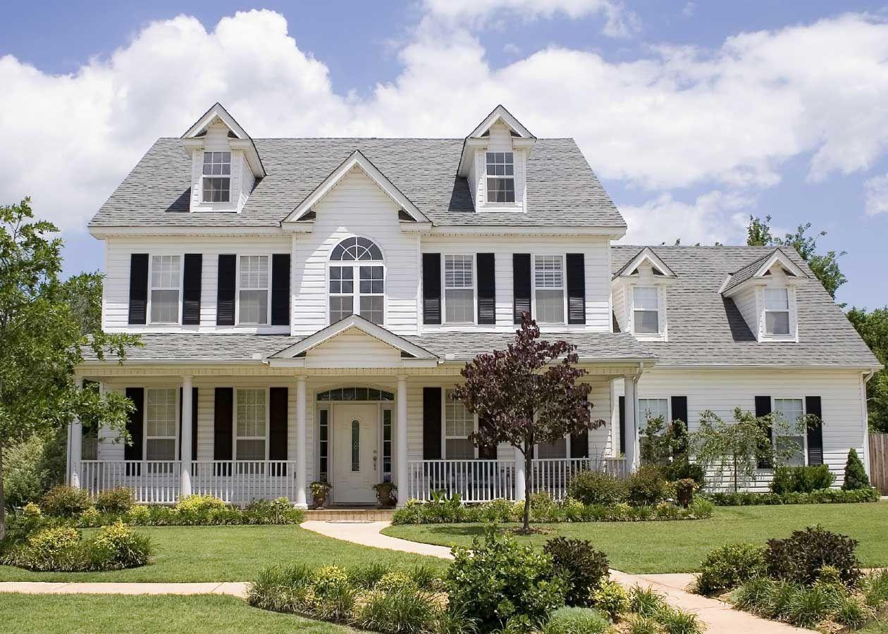 Hermosas Fachadas De Casas Bonitas De Dos Pisos Dream House House American Houses