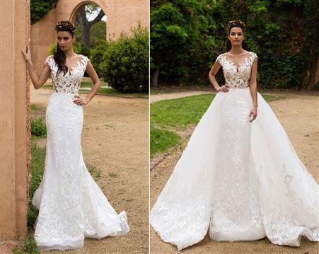 Ball Gown Wedding Dresses Ideas 2017 Wedding Dress Convertible Wedding Dress Two Looks In O Detachable Wedding Dress Bridal Ball Gown Classic Wedding Dress