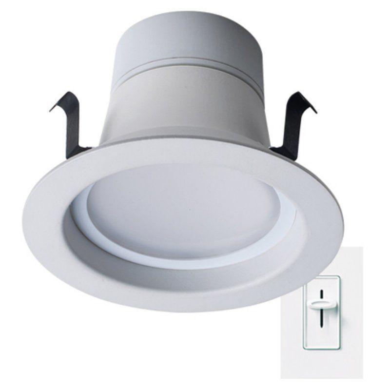 Bulbrite dimmable led downlight retrofit recessed lighting kit bulbrite dimmable led downlight retrofit recessed lighting kit light bulbs at hayneedle aloadofball Image collections