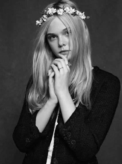 The Little Black Jacket: Chanel's Classic Revisited  Elle Fanning
