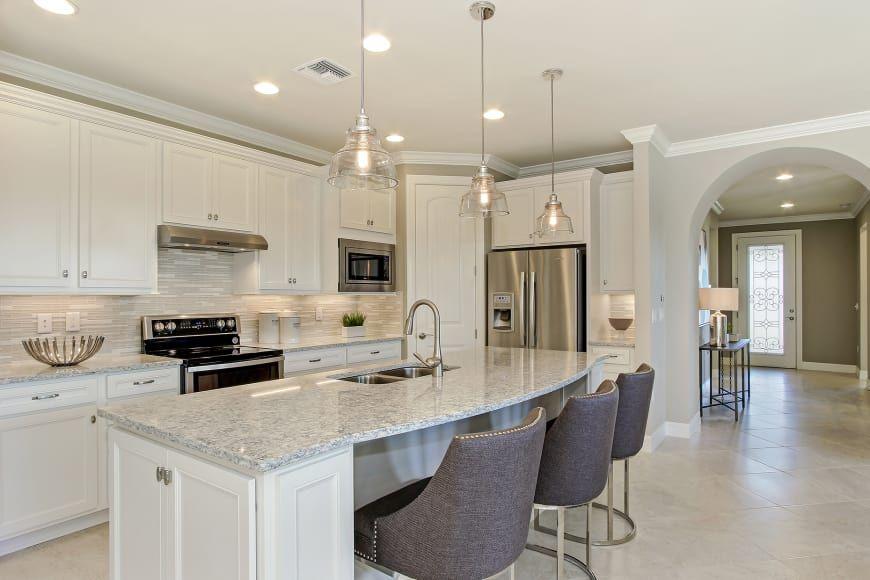 Summerwood At Bridgetown In Fort Myers Florida Pulte Kitchen Range Hood Kitchen Layout Home Kitchens