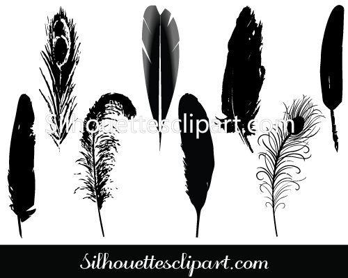 Feather Vector Clip Art Pack Download