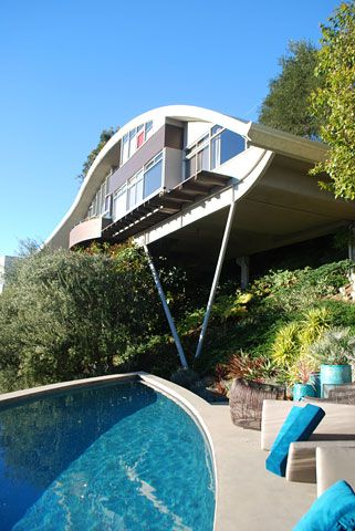 John Lautner Garcia House La Mel Gibson Blows Up This House