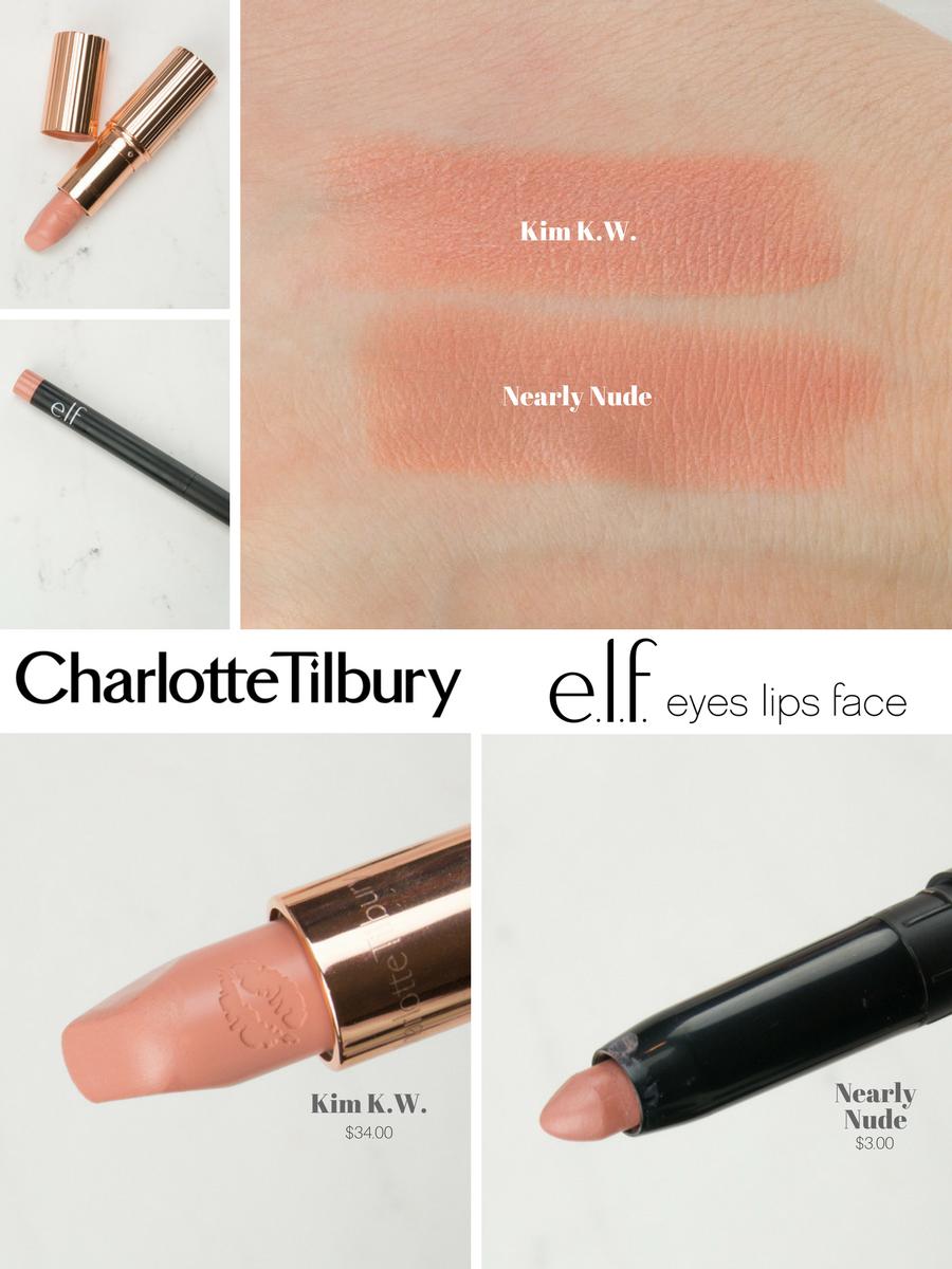 Charlotte Tilbury Dupe Kim Kw Makeupfakeup In 2019 Lipstick