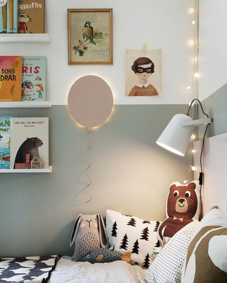 My Scandinavian Home Green And Pink Accents In A Beautiful Swedish Family Home Kids Room Inspiration Kids Room Design Kid Room Decor