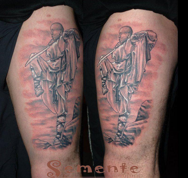 Shaolin kung fu tattoos