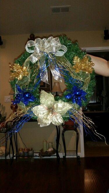 Berkeley colors wreath