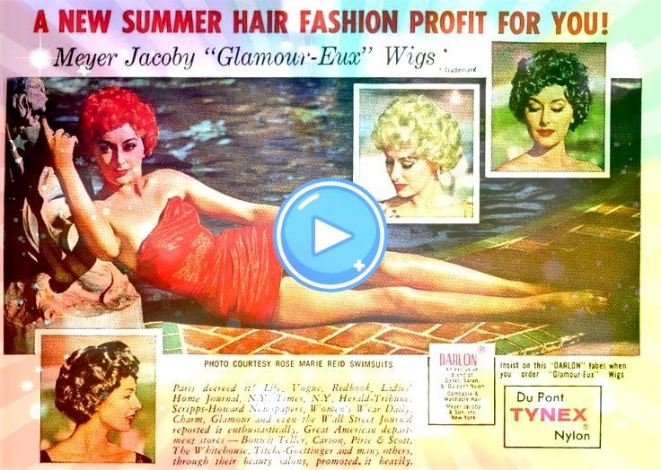 Hairstyles  50s Hairstyles from Short to Long  1950s Hairstyles  50s Hairstyles from Short to Long   tallulah bankhead  Google Search Gentlemens Quarterly November 1965 V...