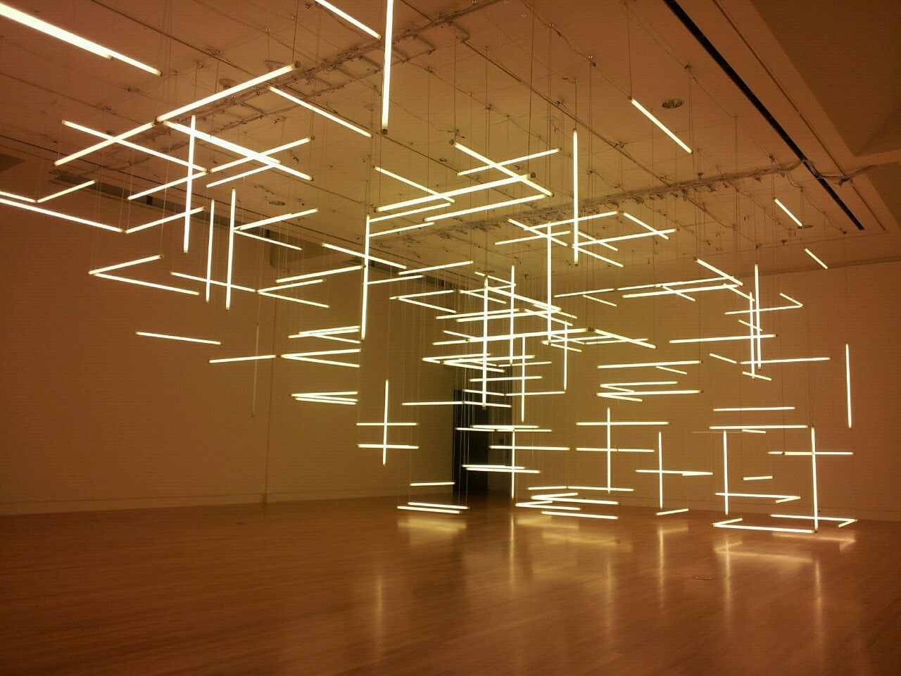 "oieouio:  ""Through Hollow Lands""Light installation by LILIENTHAL