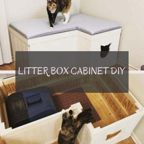 litter box cabinet diy