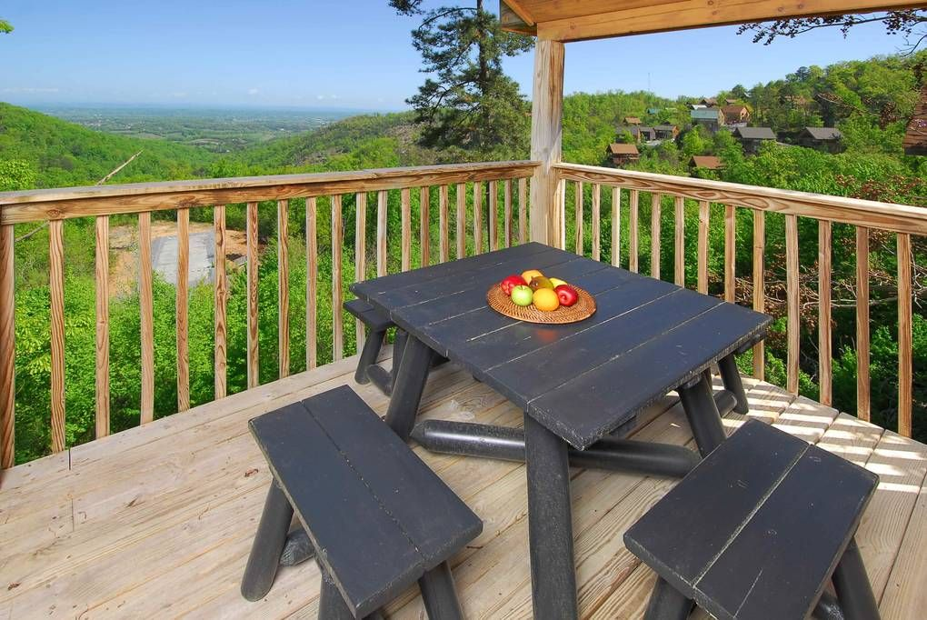 1 Bedroom Cabins in the Smoky Mountains Timber Tops