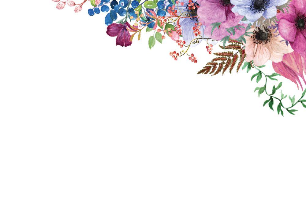 Purple Bouquet Rsvp Rsvp Card Template Free Greetings Island Purple Bouquet Floral Border Design Card Templates Free