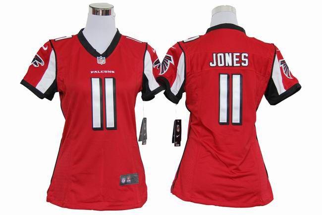 Atlanta Falcons #11 Julio Jones Red Game Womens Jersey   NFL Women  for sale
