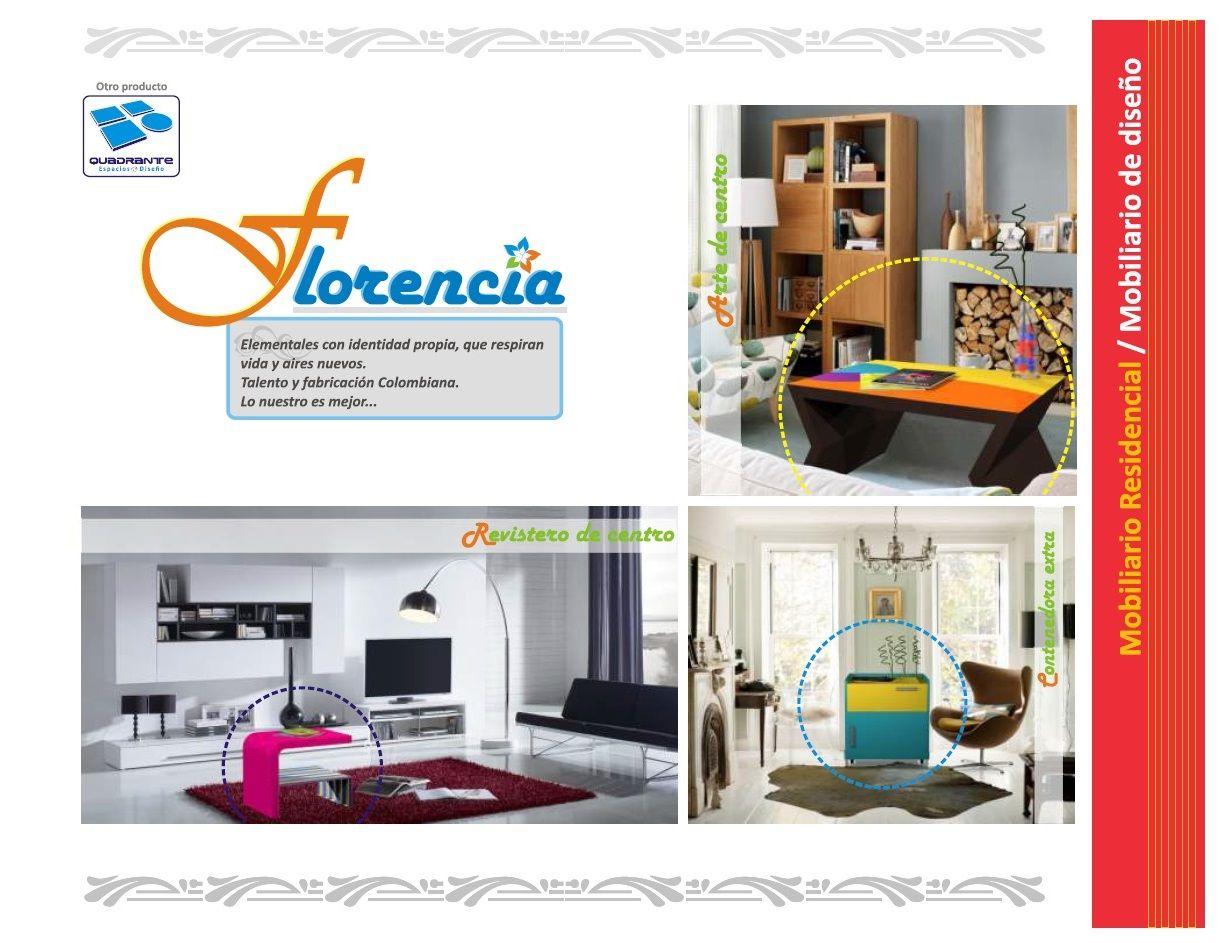 Mobiliario Habitacional De Dise O L Nea Florencia Portafolio  # Muebles Hoteleros