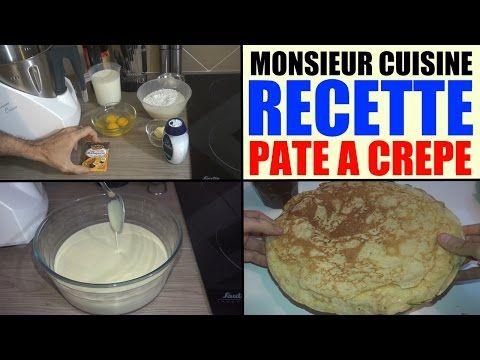 recette pâte à crêpe monsieur cuisine silvercrest lidl SKMH 1100