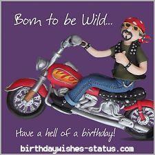 Birthday Wishes For Bikers Birthday Wishes Biker Bikers Motorcycle Repin Repost Birthday Biker Birthday Funny Birthday Cards Happy Birthday Motorcycle
