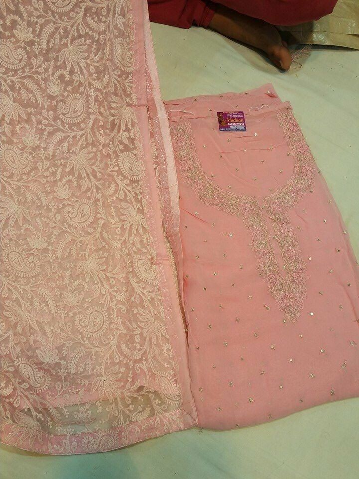 Beautiful romantic combination by Madaan Cloth House