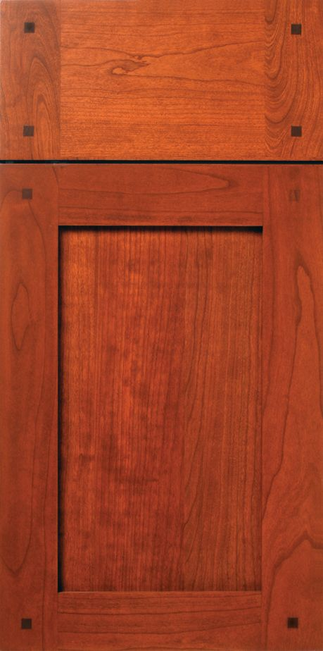 Cherry Shaker Cabinet Door With Walnut Peg Buttons Walzcraft Shaker Cabinet Doors Cabinet Doors Shaker Cabinets