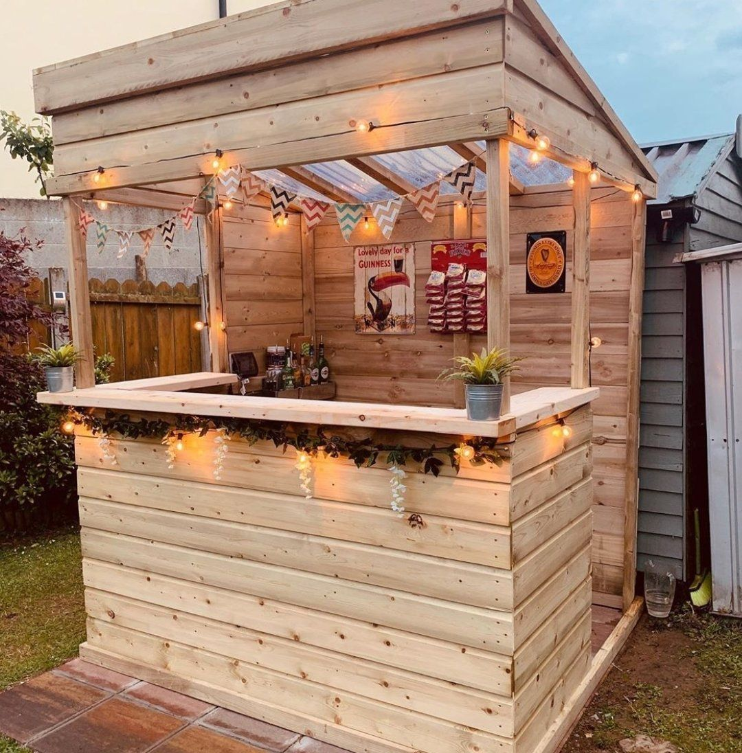 Incredible Outdoor Bar Ideas Inspo For Your Garden Ideas Inspo In 2020 Outdoor Bar Bar Shed Garden Bar Shed