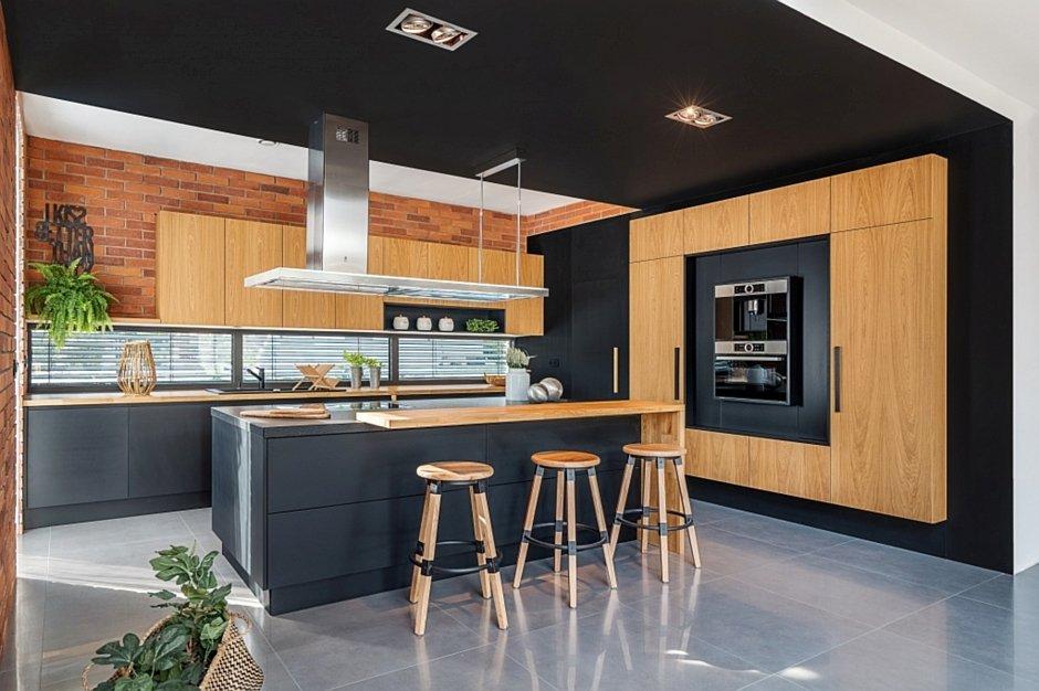 Aranzacja Duzej Otwartej Kuchni Z Wyspa I Hokerami Katarzyna A Konkurs Nasze Kuchnie 2019 Aranzacje Kuchni Kuchenny Com Pl Kitchen Home Home Decor