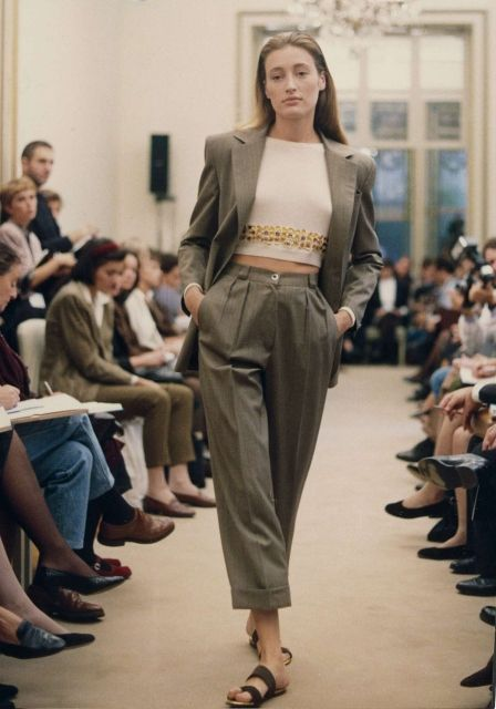 35ce13338cbb Time for the resurgence of the 'Women's Power Suit' (Prada 1988-1990 ...