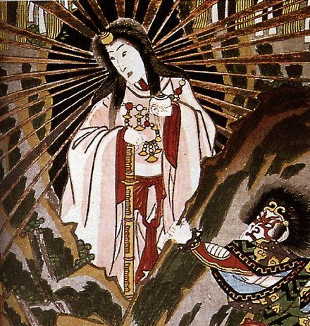 Amaterasu, Amaterasu-ōmikami or Ōhirume-no-muchi-no-kami ...
