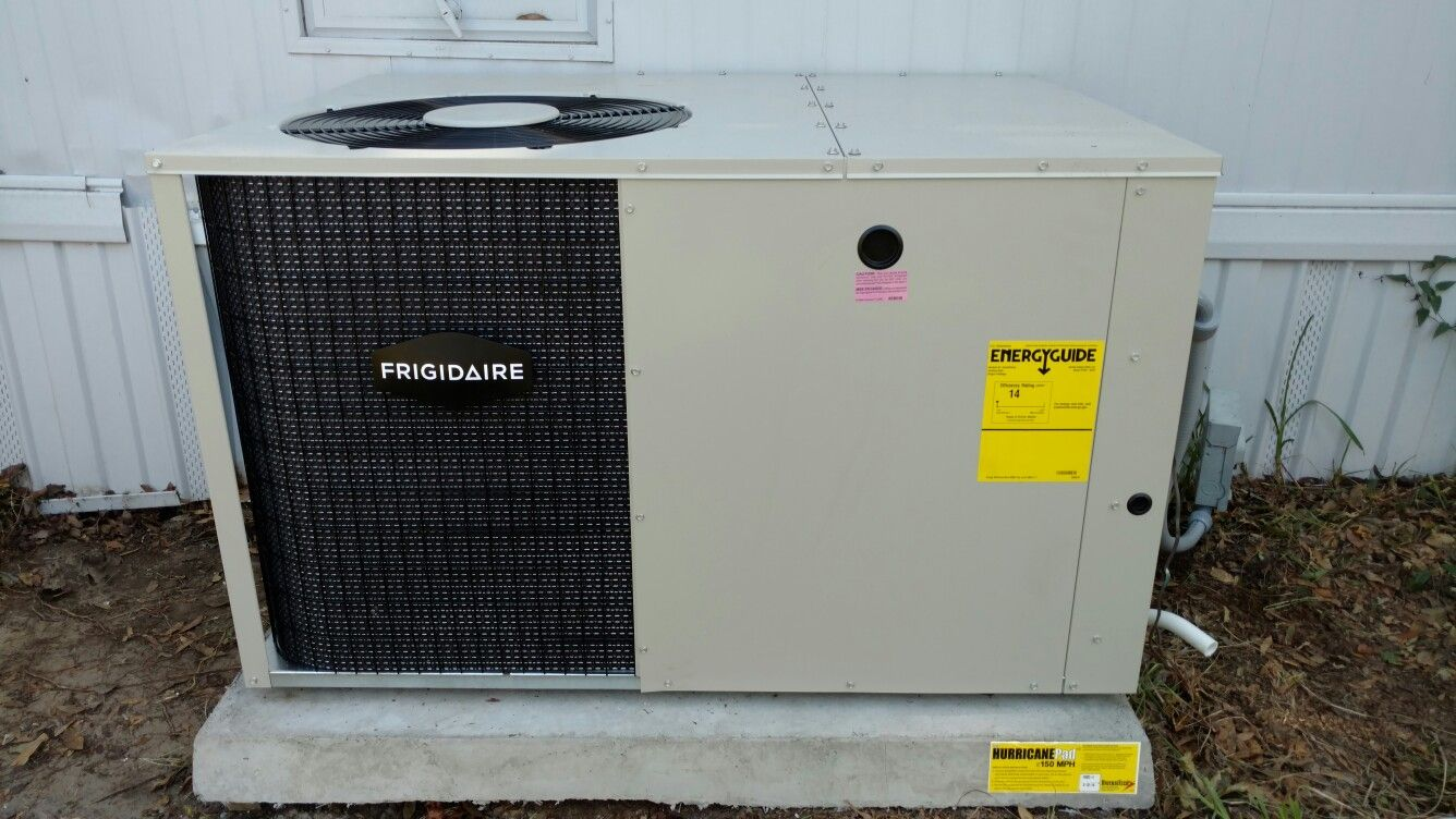 Frigidaire Packaged Air Conditioning Unit installed by