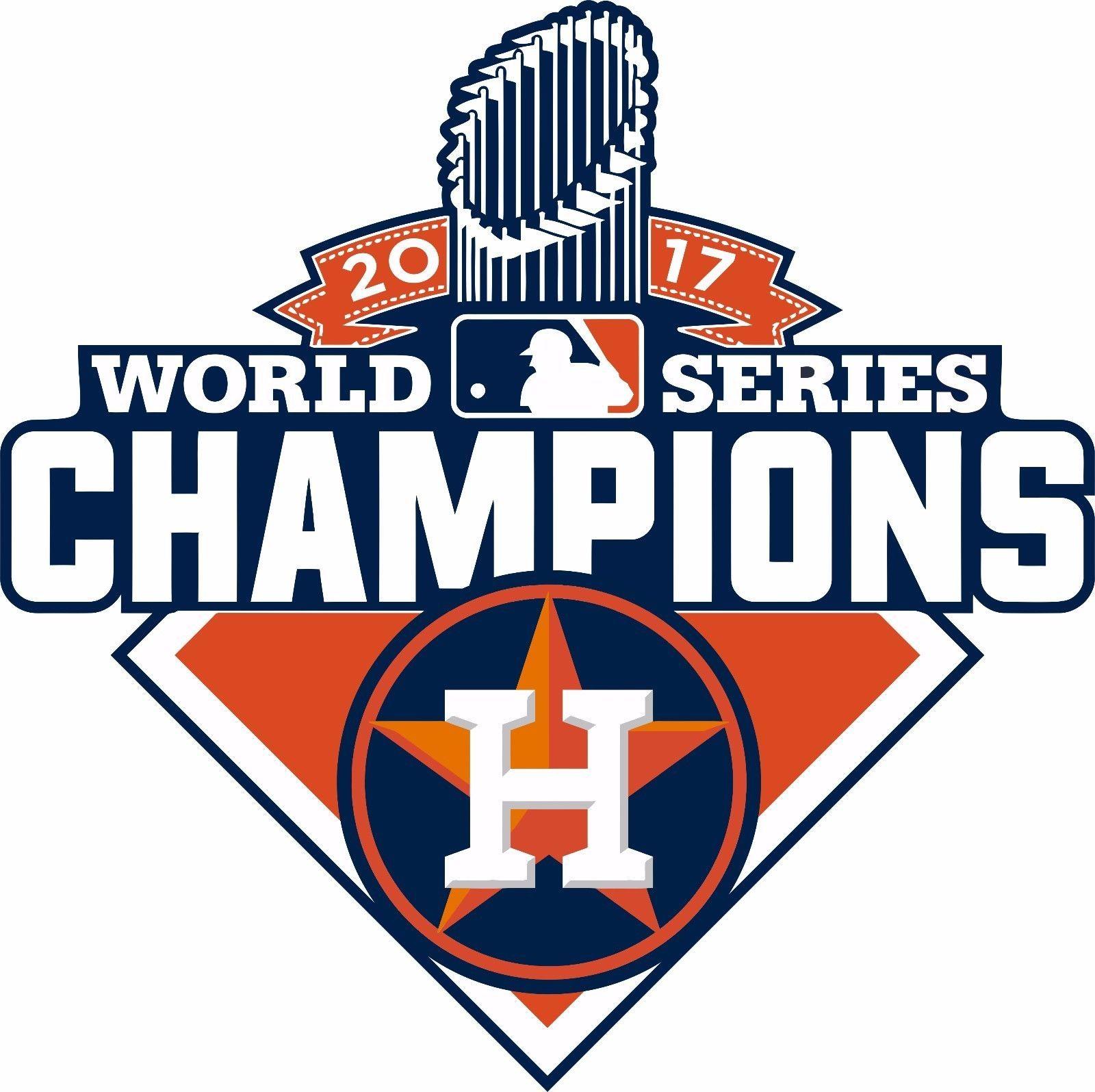 2.99 Houston Astros World Series Champions 2017 Decal