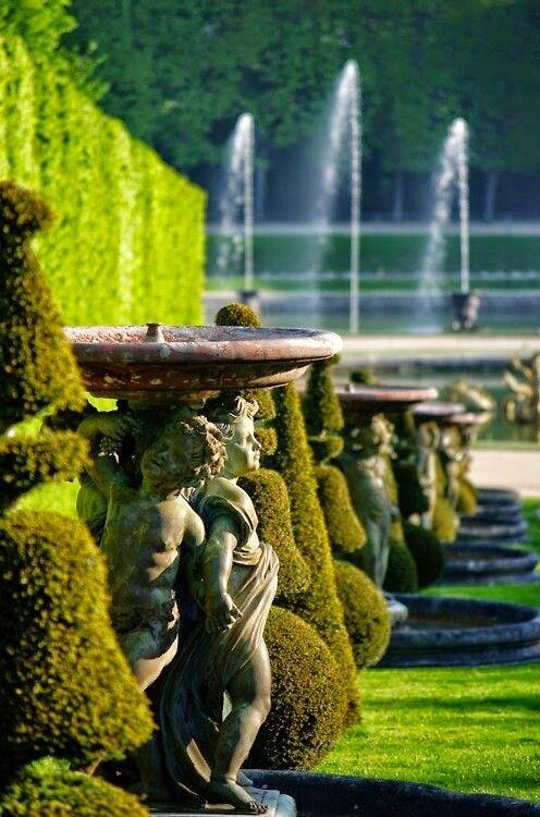 Part Of Versailles Versailles Garden Beautiful Gardens French Garden