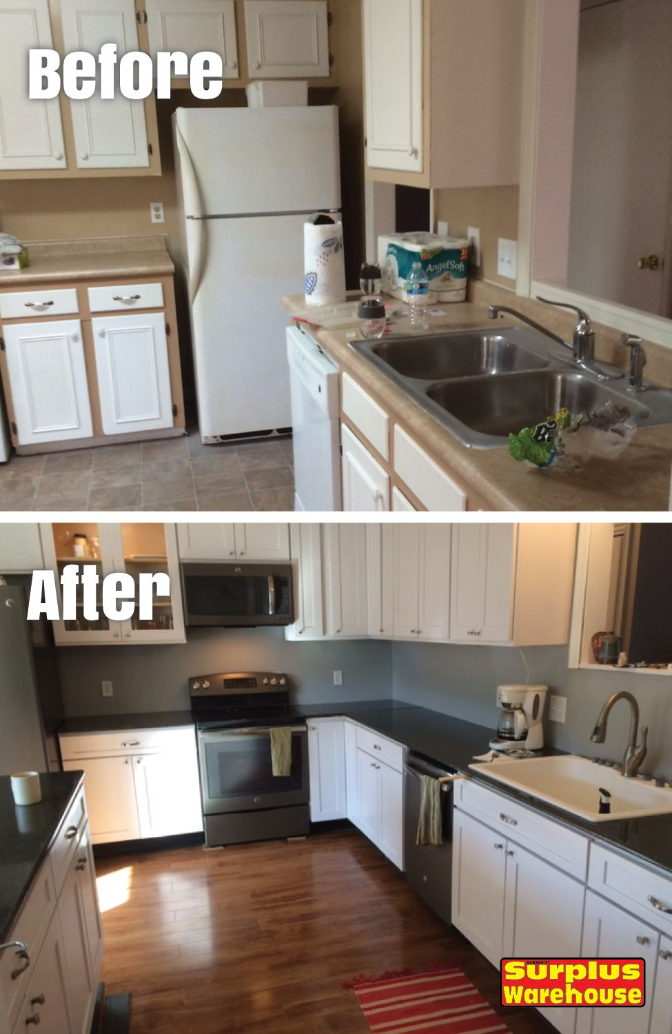 Kitchen remodel sent in by Heather M. -Columbia, SC. Kitchen remodel ...