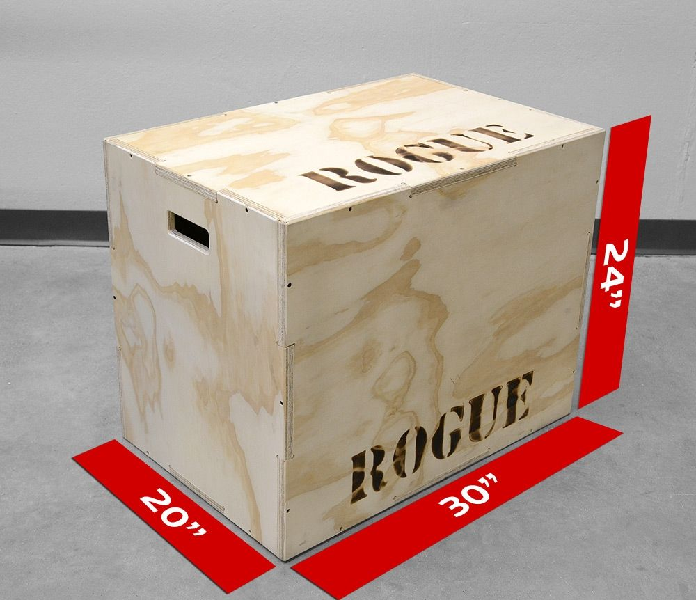 Crossfit Style Plyo Box Table Saw Wonder Woman Cave