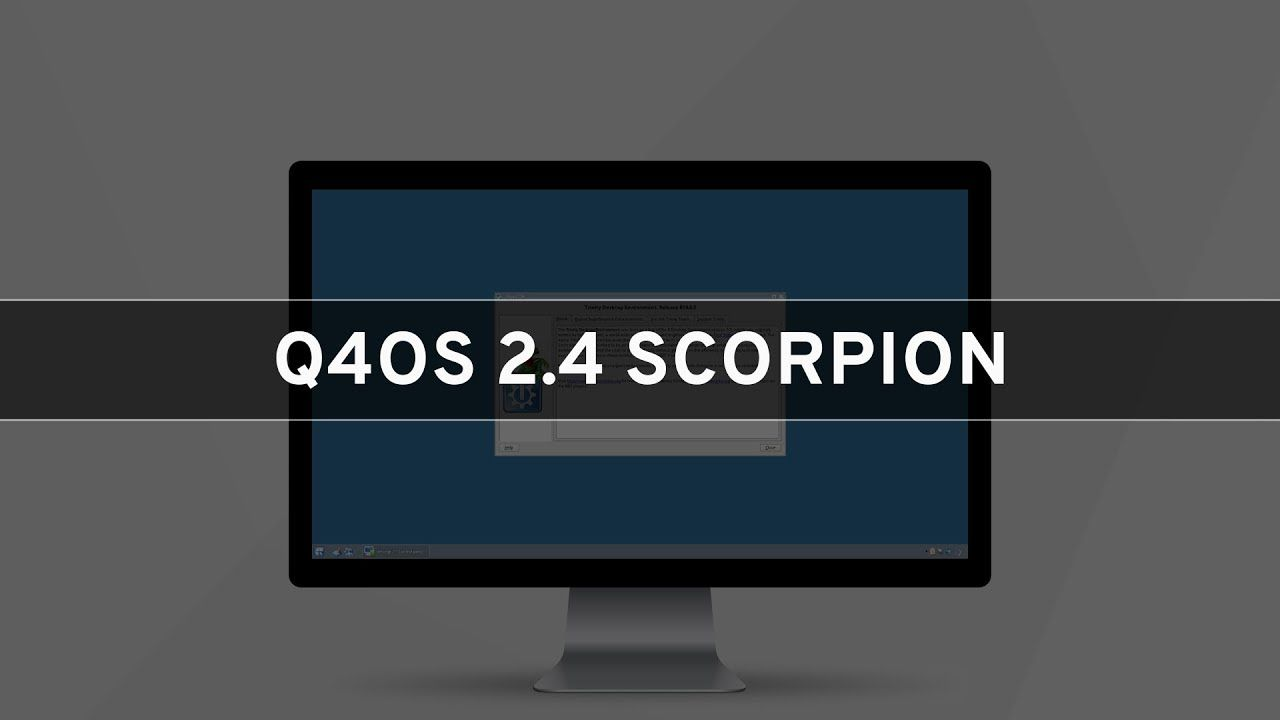 Q4os 2 4 Scorpion See What S New With Images Scorpion Whats
