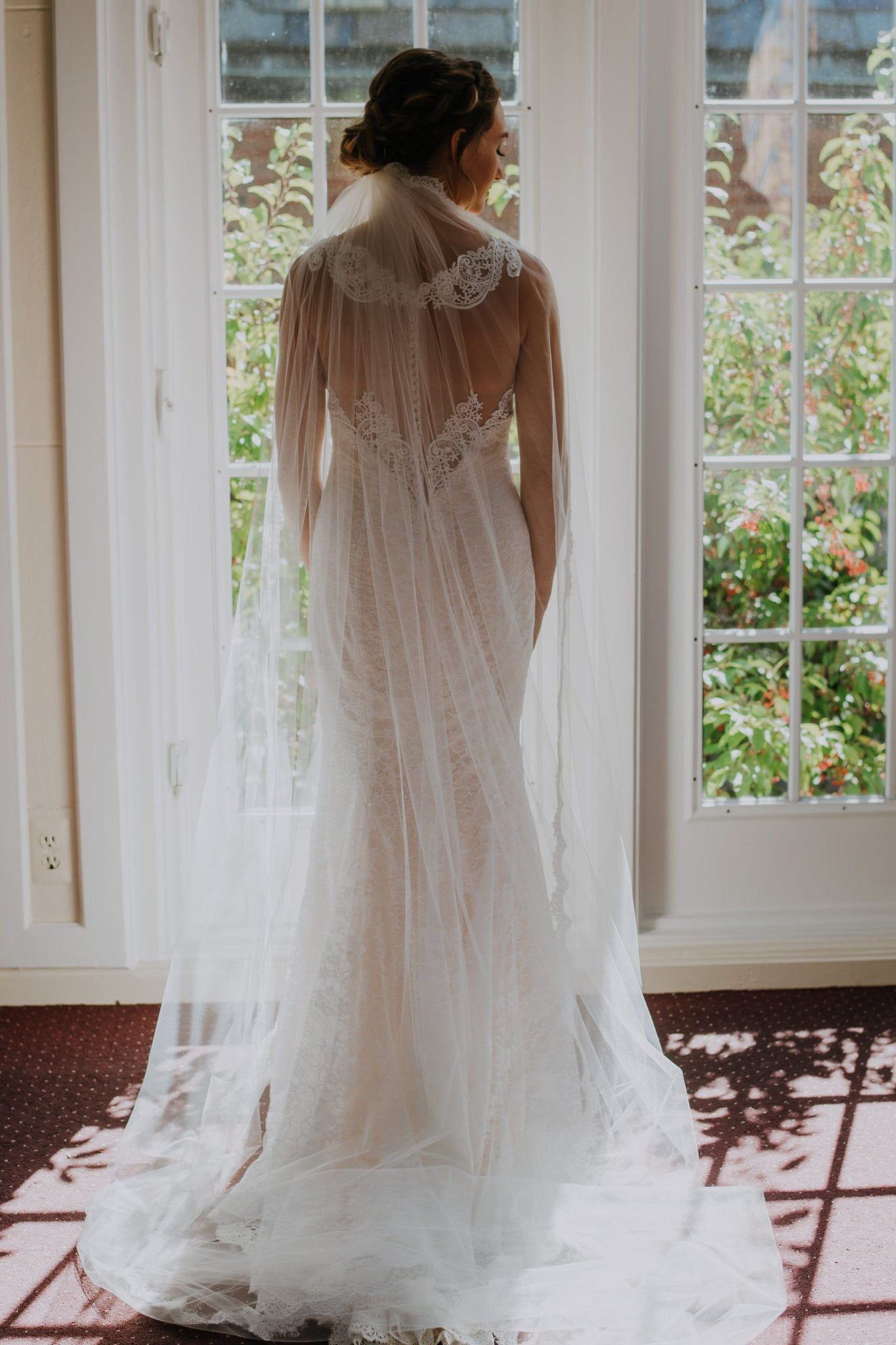 Wedding dress with bow on back  Our Favorite Wedding Trends for   Custom Wedding Dress Beading