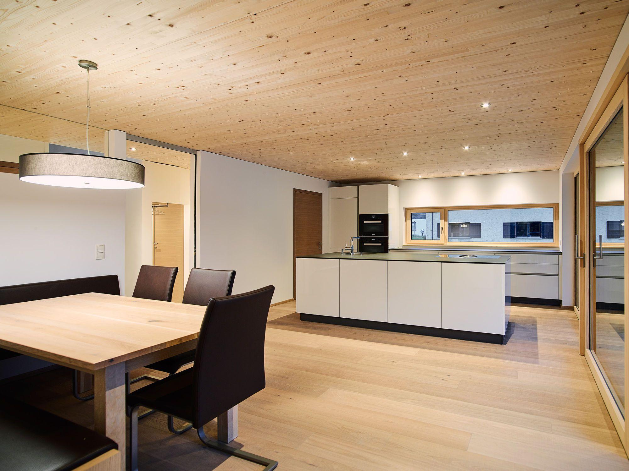 Holzdecken Verschiedene Deckenarten Beispiele