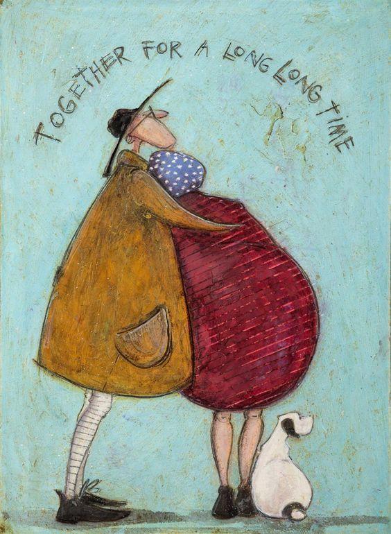 Together For A Long Time John Noott Galleries Susse Kunst Inspirierende Kunst Kunstmalerei