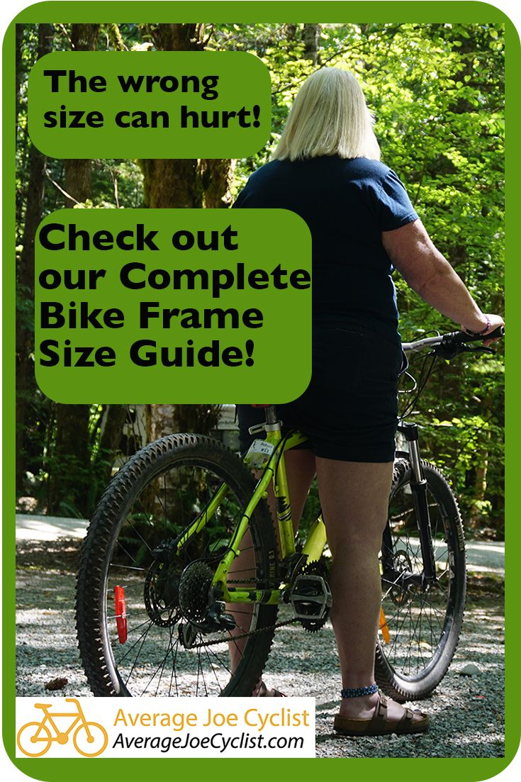 Complete Bike Frame Size Guide Bike Frame Measurement Size Chart Bike Frame Cycling Quotes Bicycle