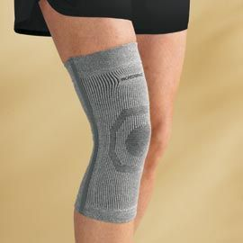 Knee Support also provides healing warmth and increased blood flow.    Ahhhh I want this!!!