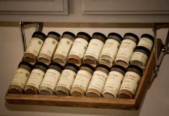 Under Cabinet Spice Rack By GreatRack On Etsy, $149.00