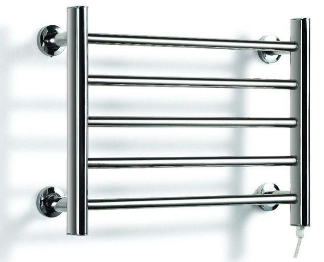 Heated Towel Rail Holder Bathroom Accessories Rack Stainless Steel Electric Warmer Dryer Heater Banheiro