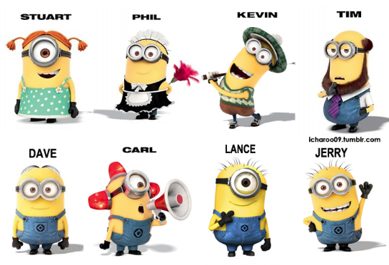 For Those Of You Calling The Tall One Eyed Minion Kevin It Is Not