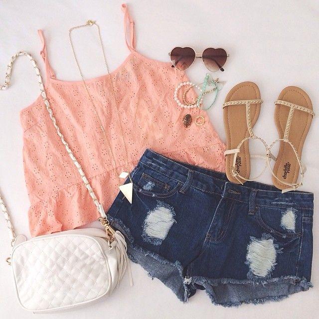 blusa+short+accesorios