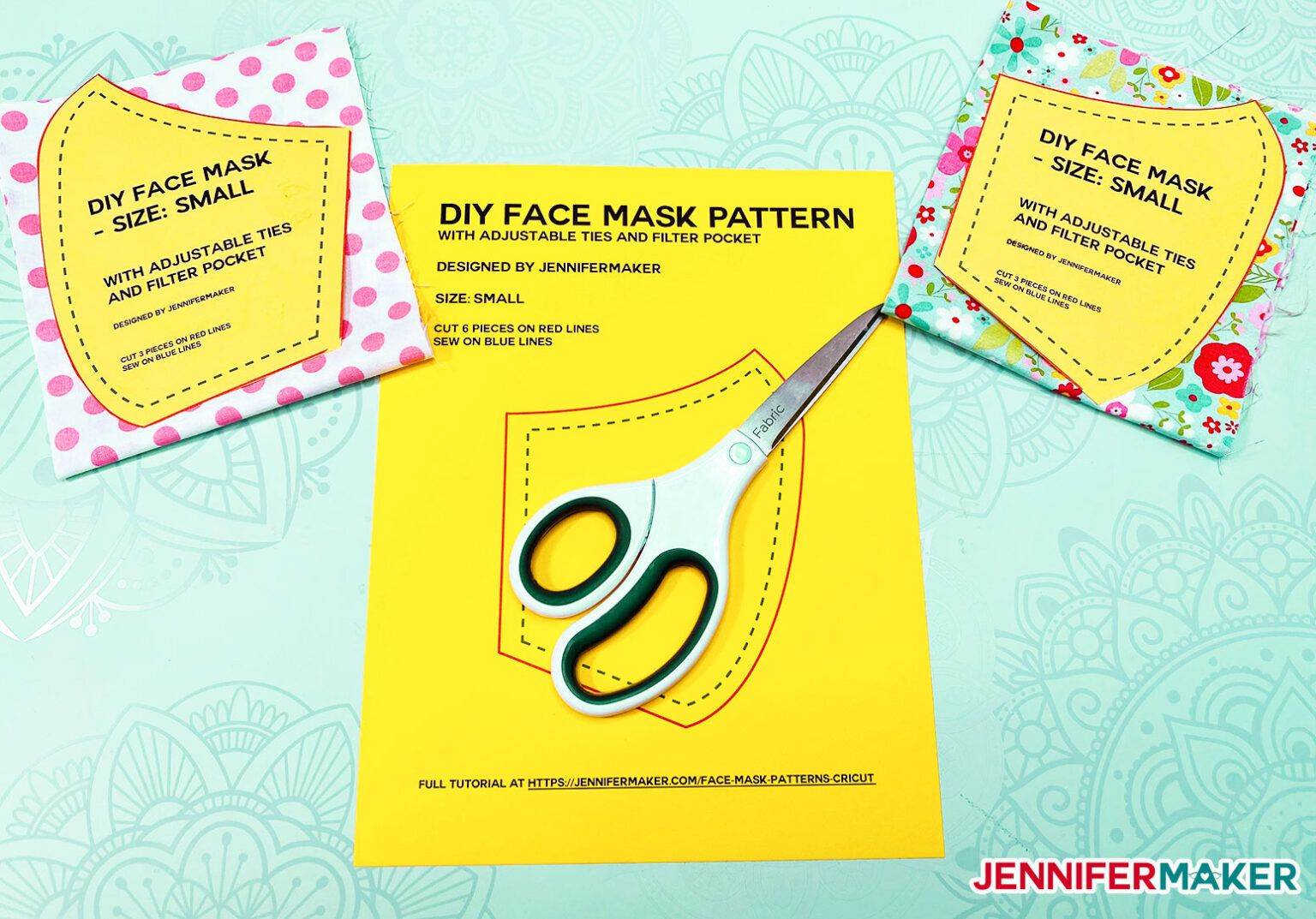 Diy Face Mask Patterns Filter Pocket Adjustable Ties Diy